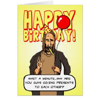 A Christmas Birthday Card