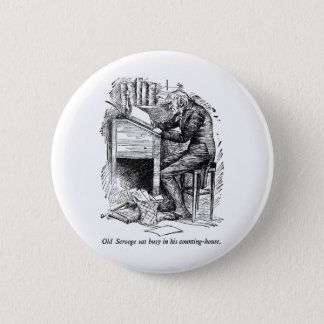 A Christmas Carol 2 Inch Round Button