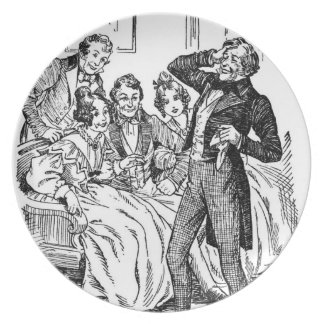 A Christmas Carol: A Fresh Roar Of Laughter Dinner Plate