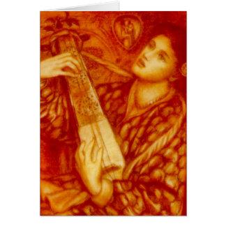 A Christmas Carol by Rossetti Card