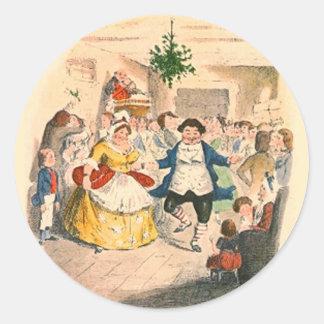 A Christmas Carol Classic Round Sticker