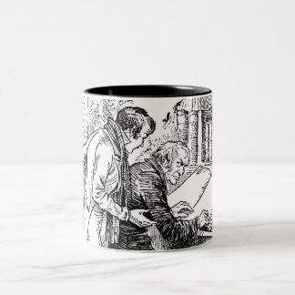 A Christmas Carol: Leave It Alone Two-Tone Coffee Mug