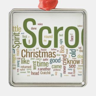 A Christmas Carol Metal Ornament