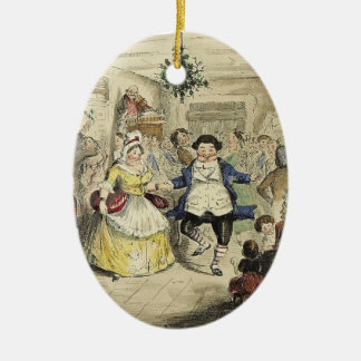 A Christmas Carol Ornament - Fezziwig's Ball