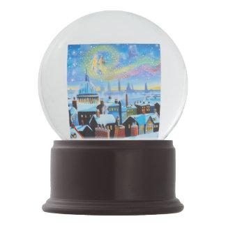 A Christmas Carol Scrooge London in winter Snow Globe