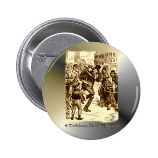 A Christmas Carol - Tiny Tim 2 Inch Round Button