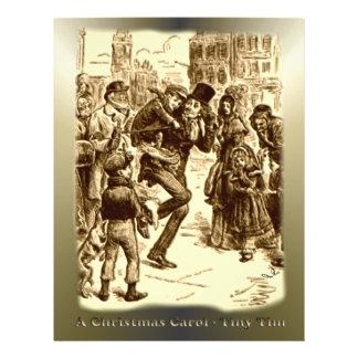 A Christmas Carol - Tiny Tim Personalized Flyer