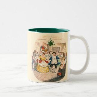 A Christmas Carol Two-Tone Coffee Mug