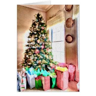 A Christmas Tree Card