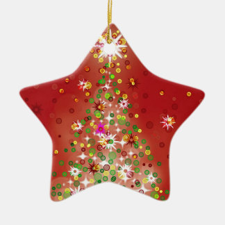 A Christmas tree that glows Christmas Ornaments
