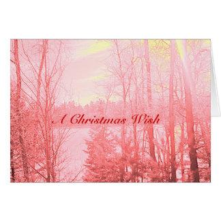 A Christmas Wish Card