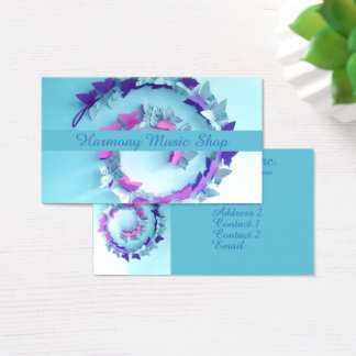 A Circle of Harmony Business Card