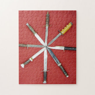 A Circle of Knives Jigsaw Puzzle