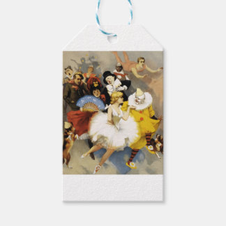 A Circus of Dancers Gift Tags
