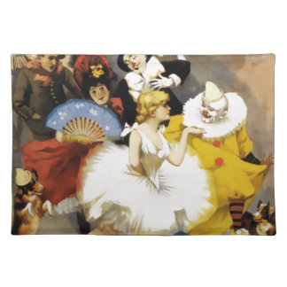 A Circus of Dancers Placemat