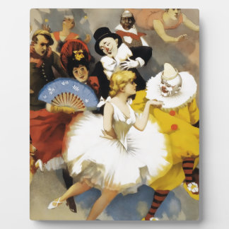 A Circus of Dancers Plaque