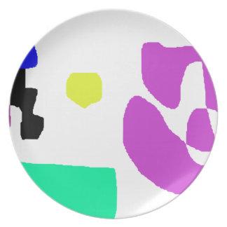 A City Corner Plate