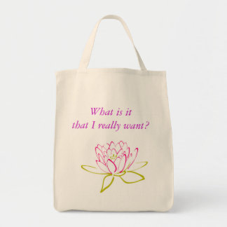 A clarifying and cheery little tote! tote bag