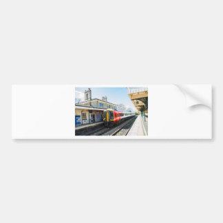 A Class 158, Romsey Station Bumper Sticker