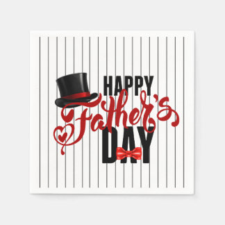 A Class Act Father's Day Party Paper Napkins