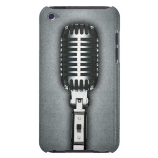 A Classic microphone iPod Touch Cases