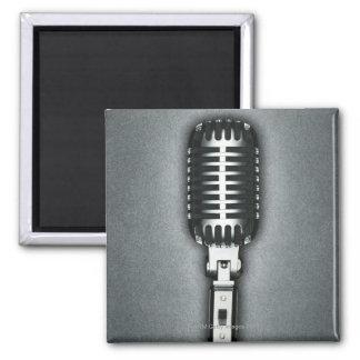 A Classic microphone Magnet