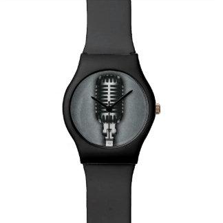 A Classic microphone Watch
