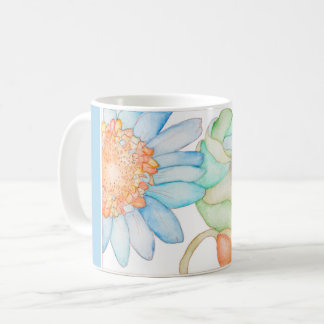 A classic mug with floral style