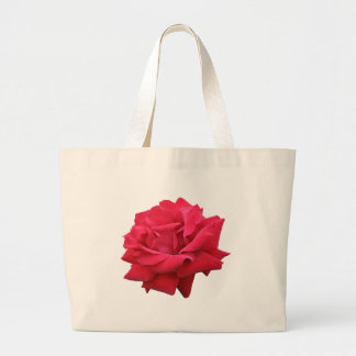 A Classic Red Rose Large Tote Bag