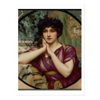 A Classical Beauty, 1901 (oil on canvas) Postcard