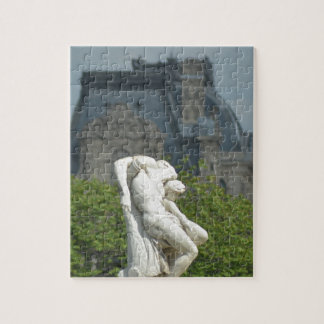 A classical marble statue in Paris Jigsaw Puzzle