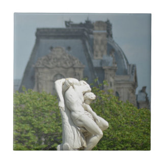 A classical marble statue in Paris Tile