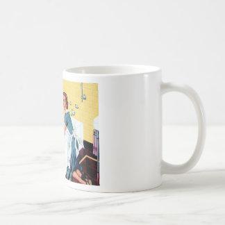 A clean house coffee mug
