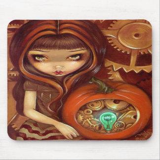 """""""A Clockwork Pumpkin"""" Mousepad"""