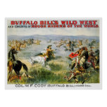 A Close Call - Buffalo Bill Posters