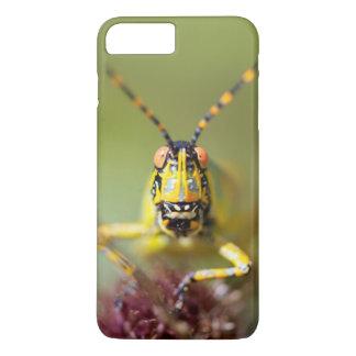 A close-up of an Elegant Grasshopper iPhone 7 Plus Case