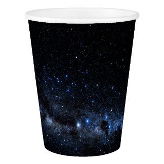 A Cluster of Stars Paper Cup