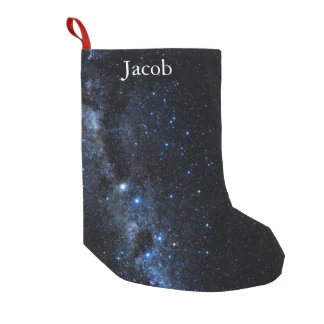 A Cluster of Stars Small Christmas Stocking