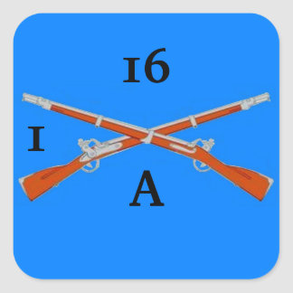 A Co 1st BN 16th Infantry Stickers