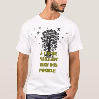 """""""a coeur tee"""" T-Shirt"""