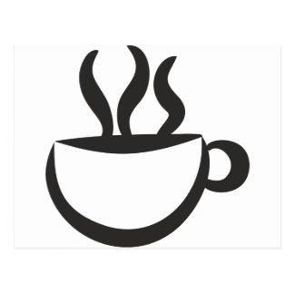 A coffee? postcard