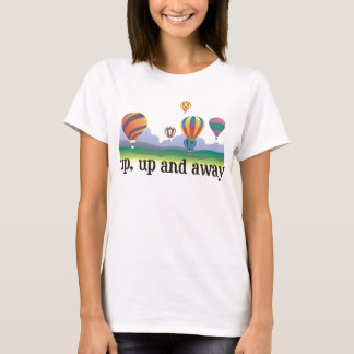 A colorful balloon flying gift - hot Air Balloons T-Shirt