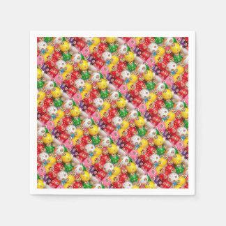 a colorful design napkin