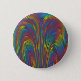 A Colorful Eruption 2 Inch Round Button