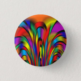 A Colorful Integration 1 Inch Round Button