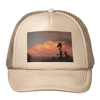 A Colorful Sunset Trucker Hat