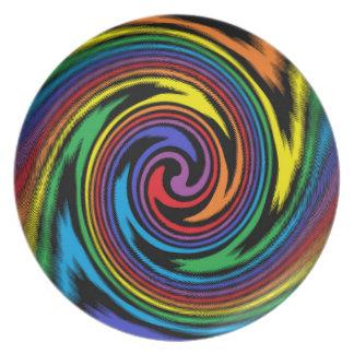 A Colorful Turbulence Plate