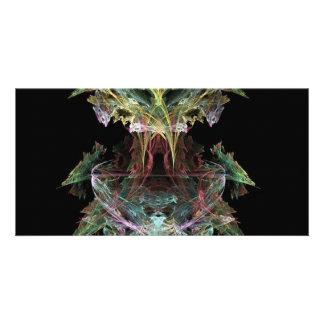 a-colourful-fractal photo card
