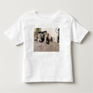 A combat engineer searches for weapons caches toddler t-shirt