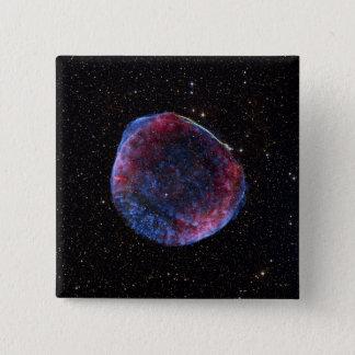 A composite image of the SN 1006 supernova remn 2 Inch Square Button